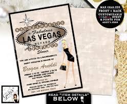 Lingerie Party Invitations Vegas Party Invites Bachelorette U0026 Lingerie Shower Wedding