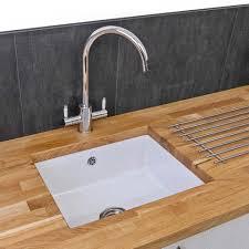 ceramic undermount kitchen sinks reginox mataro 1 0 bowl white ceramic undermount kitchen sink