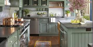 best wall color with oak kitchen cabinets 31 green kitchen design ideas paint colors for green kitchens