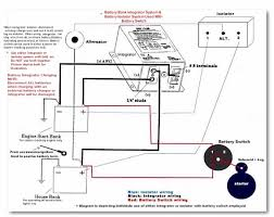 battery isolator installation question and perko dual switch