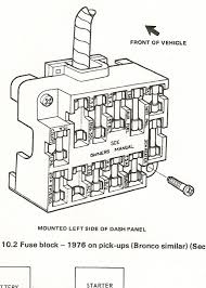 fuse block 1976 ford truck enthusiasts forums