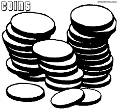 coin coloring pages coloring pages to download and print