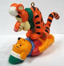 winnie the pooh and tigger snowball game pouncy hallmark christmas