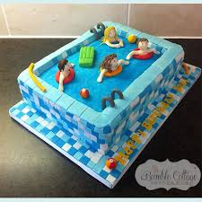 best 25 swimming pool cakes ideas on pinterest swimming cake