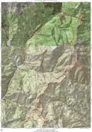 Utah Topo Maps by Ridge Trail 157