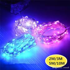 blue led christmas string lights 2m 3m 4m 5m 10m led battery strings mini led copper wire string
