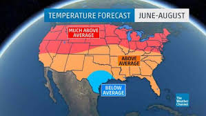 summer 2016 outlook warm temperatures for much of the u s the