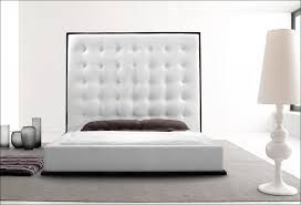 Leather Tufted Headboard Bedroom Magnificent White Leather Tufted Headboard Rustic Large