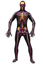 skeleton costume men s radio active skeleton costume mens costumes