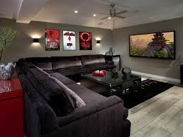 Modern Media Room Ideas - photo page hgtv