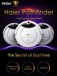home cleaning robots haier pathfinder robot vacuum cleaner wifi phone app uv wet