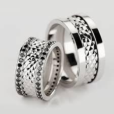 verighete online verighete realizate din aur alb ce au diamante negre pret 14990