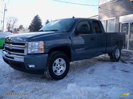 2011 chevrolet silverado 1500 lt extended cab 4x4 in blue granite