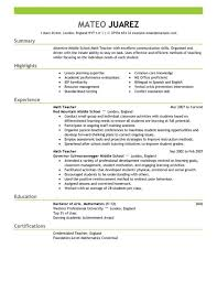 classic resume example resume example and free resume maker