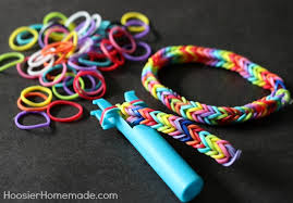 bracelet with rubber bands images How to make a triple fishtail rubber band bracelet hoosier homemade jpg