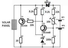 Solar Street Light Circuit Diagram by Solar Powered Led Light Circuit Diagram And Schematic Design