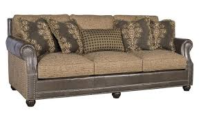 Leather And Upholstered Sofa Rustic Sofas Chairs Southern Creek Rustic Furnishings