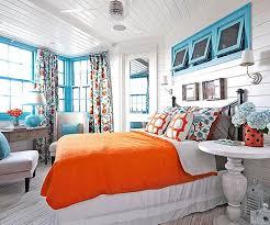Best Color Trend Turquoise  Orange Images On Pinterest - Colorful bedroom