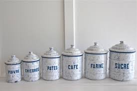 enamel kitchen canisters canisters awesome french canister set french provincial kitchen