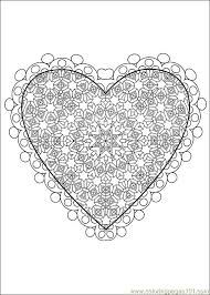 Difficult Level Mandala Coloring Pages Free Printable Coloring