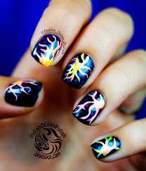 indian ocean polish langerhans cells inspired nail art nail art