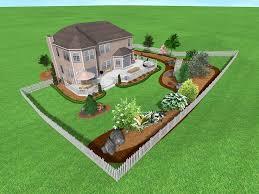 Large Backyard Landscape Ideas  Erikhanseninfo - Landscape designs for large backyards