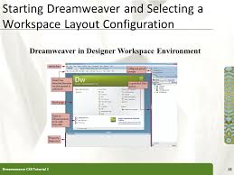 configure xp dreamweaver tutorial 1 getting started with adobe dreamweaver cs3 ppt download