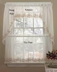 Tier Curtains Kitchen by Heather Tier Kitchen Curtains