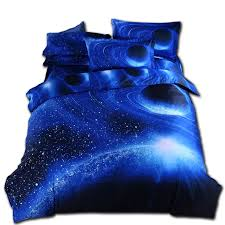 duvet cover black friday cheap price moon star galaxy space bedding set queen size 4pc