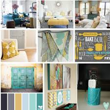 Yellow And Gray Wall Decor by Living Room Decor And Design Inspiration Gray Teal And Yellow