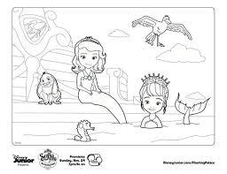 printable 10 sofia mermaid coloring pages 6506 sofia