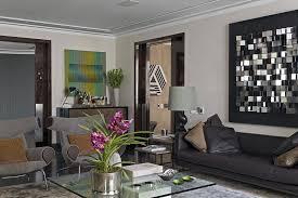 Living Room  Exellent Gray Living Room Decor Ideas With L Shape - Grey living room decor