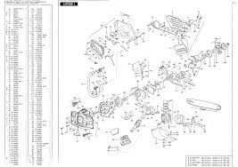 mcculloch mac cat 330 338 340 chainsaw parts list