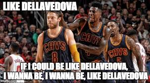 Nba Playoff Meme - image tagged in dellavedova cleveland cavaliers chicago bulls nba