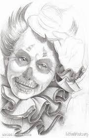 clown skull tattoo artists org