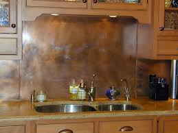 rustic copper backsplash brooks custom