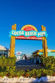 Cocoa Beach Map Cocoa Beach Pier