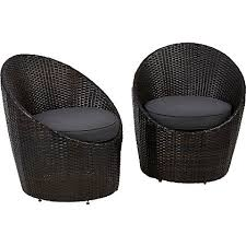 Egg Bistro Chairs Jakarta 2 Egg Bistro Chairs Home Garden George At Asda