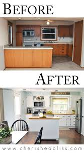 Designing A Kitchen On A Budget Tips For A Budget Friendly Kitchen Makeover From Cherished Bliss