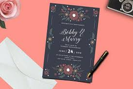 marriage invitation card 50 wonderful wedding invitation card design sles design shack