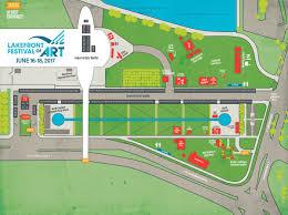 Festival Map Festival Map Lakefront Festival Of Art