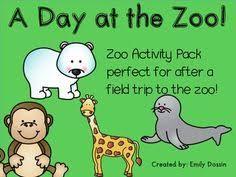 free zoo emergent reader a kindergarten smorgasboard schedulin