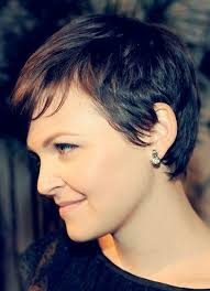 side and front view short pixie haircuts short hairstyles and cuts side view of a short hairdo ginnifer