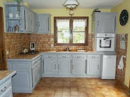 cuisine peinte peinture pour meuble de cuisine en chene frais cuisine peinte
