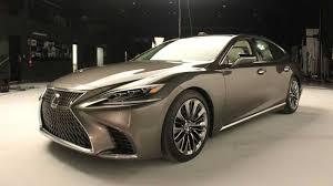 new lexus ls 500 2018 2019 u2013 the new flagship of lexus cars news