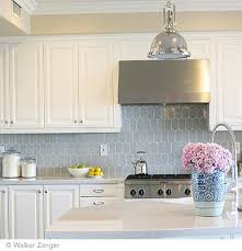 classic kitchen backsplash backsplash tile walker zanger cocoon mosaic pale sky gloss