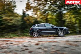 porsche suv blacked out 2018 porsche cayenne turbo review motor
