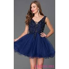 short v neck babydoll dress 9348 by mori lee discount evening