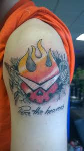 my gurren lagann tattoo imgur