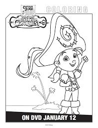 free printable jake land pirates coloring pages